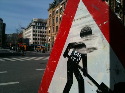 I Köpenhamn.