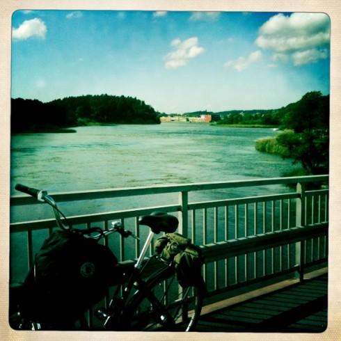 Kungälv crossing.